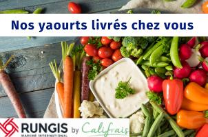 Livraison par Califrais de nos yaourts